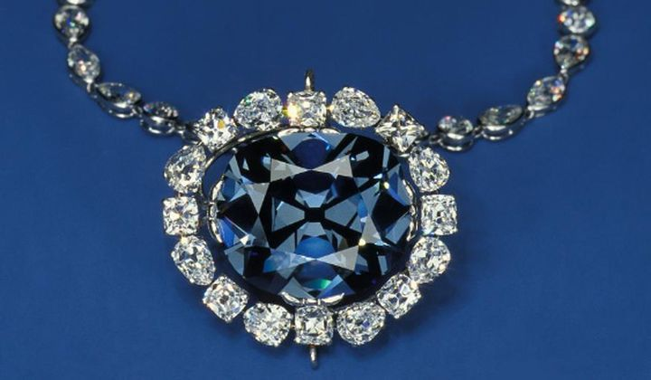 Smithsonian Associates Streaming presents surprising stories behind the jewels in the Smithsonian National Gem Collection. (Hope Diamond, Chip Clark)