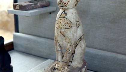 Tomb Full of Sacred Cats and Beetles Found in Egypt