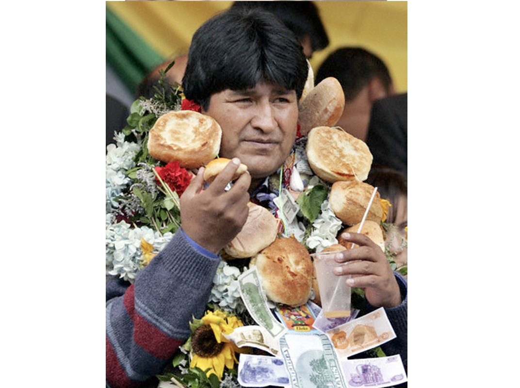 In Bolivias High Altitude Capital Indigenous Traditions Thrive