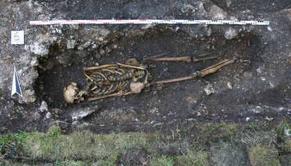 1,500-Year-Old Prosthetic Foot Discovered in Austria