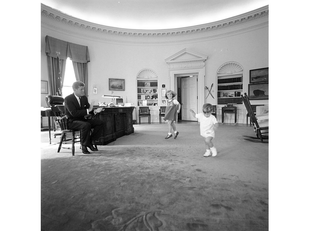 john f kennedy oval office. Caroline And John Jr. At Play In The Oval Office By Cecil Stoughton, Oct. 10, 1962 (© F. Kennedy Presidential Library Museum) F