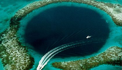 Explore Some of the World's Deepest Blue Holes