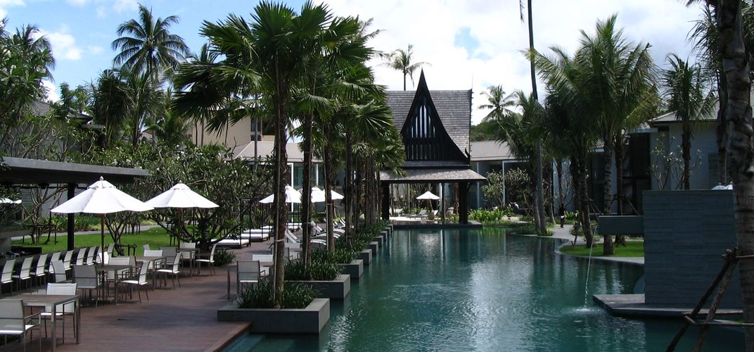 Twin Palms resort property in Phuket