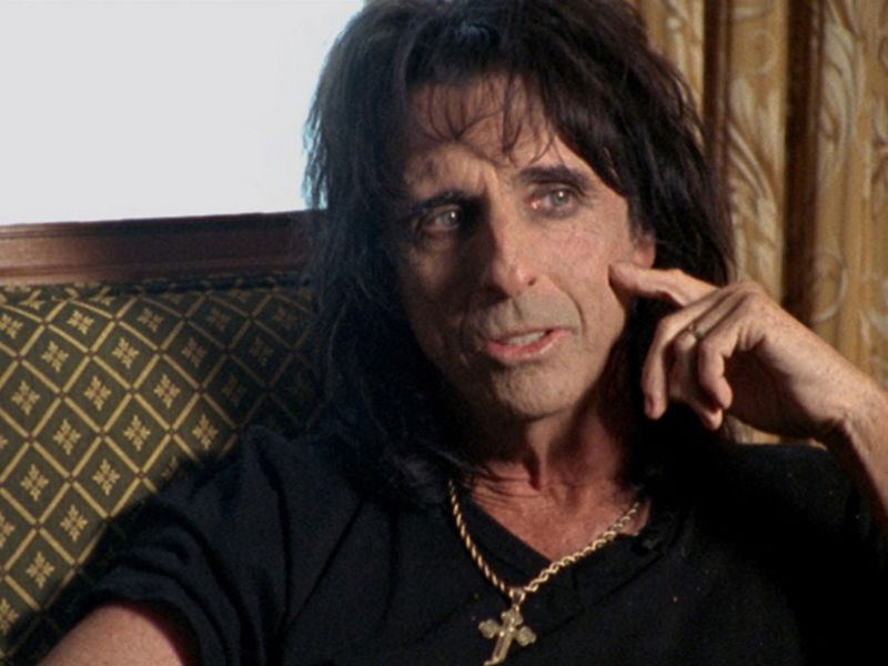 Alice Cooper finds Andy Warhol original rolled up in a tube