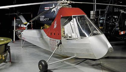 In The Museum: A Helicopter in Every Garage