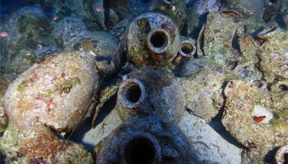 Enormous Roman Shipwreck Found Off Greek Island