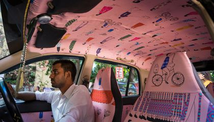This Company Transforms Indian Taxicabs Into Original Artworks
