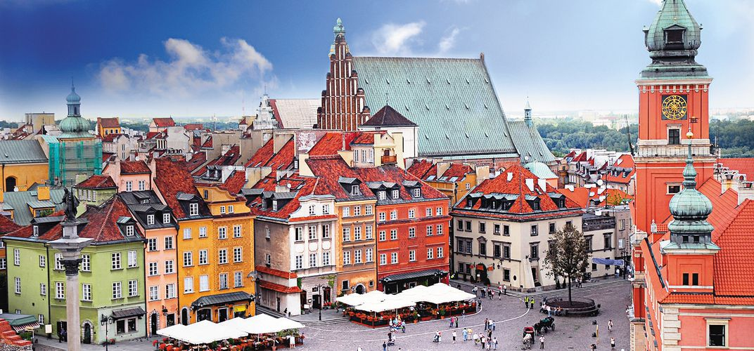 Old Town Warsaw, a World Heritage Site