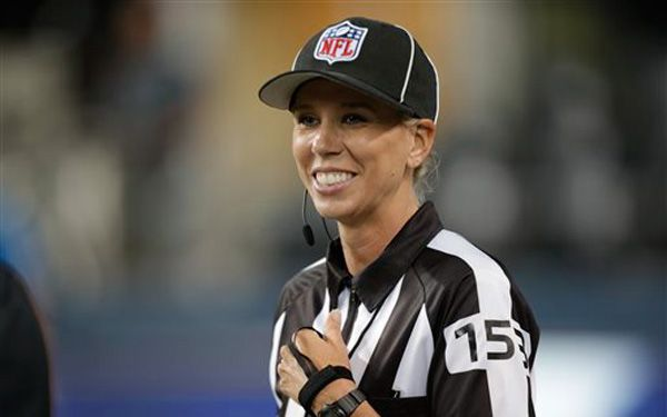 NFL gets first female official