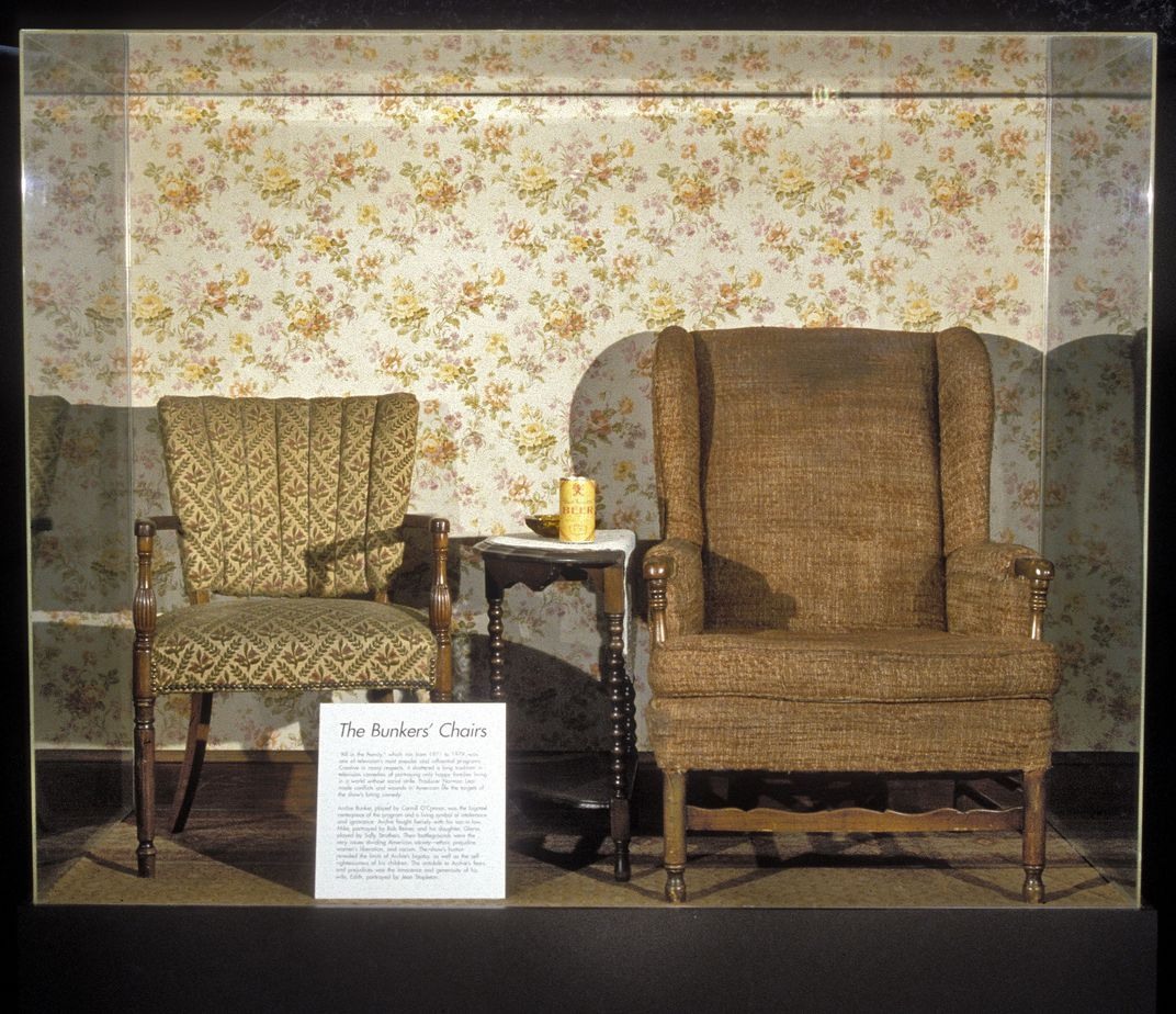 Bunker chairs, Smithsonian
