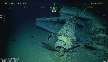 Wreck of Aircraft Carrier U.S.S. <i>Lexington</i> Found 76 Years After It Was Scuttled in Battle