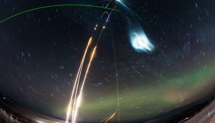 To Study Night-Shining Clouds, NASA Used Its 'Super Soaker' Rocket to Make a Fake One