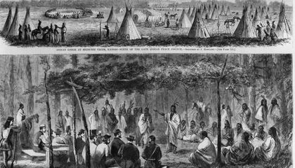 How the 1867 Medicine Lodge Treaty Changed the Plains Indian Tribes Forever