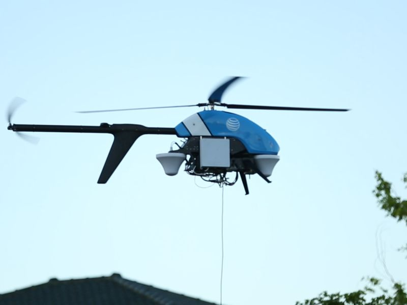 AT&T's Flying COW