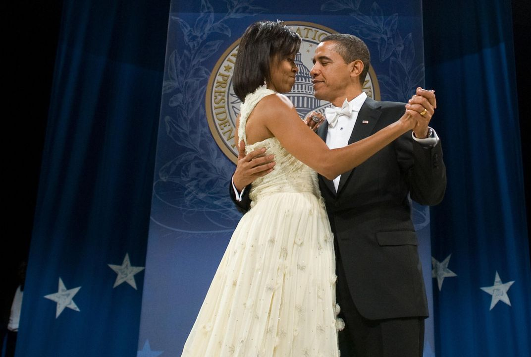 ART PRINT Obama and the First Lady INAUGURAL BALL