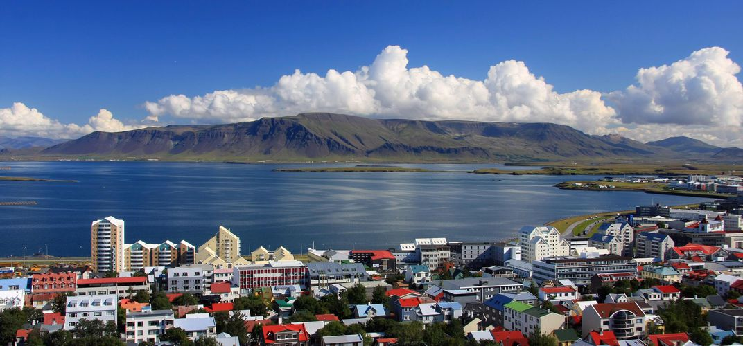 The colorful capital of Reykjavik, Iceland