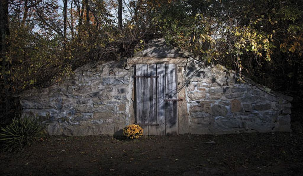 Mercy Brown's remains were likely placed in the stone crypt at Exeter's Chestnut Hill Cemetery before burial.