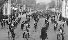 Six Indian chiefs at President Roosevelts 1905 Inaugural parade