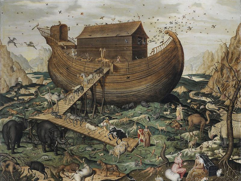 Noah's Ark on Mount Ararat-Simon de Myle-Wikimedia Commons.jpg