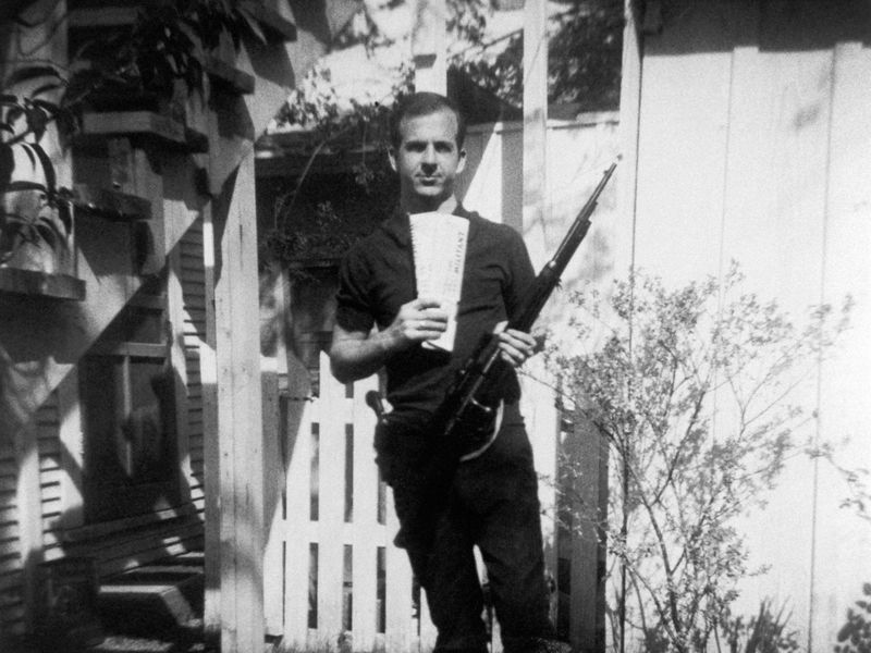 Lee Harvey Oswald Back Yard