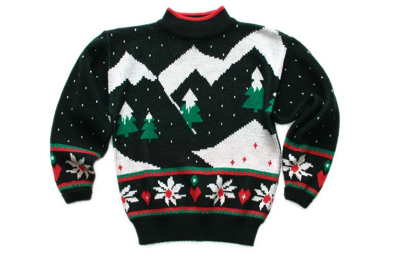 Unraveling the history of the ugly holiday sweater