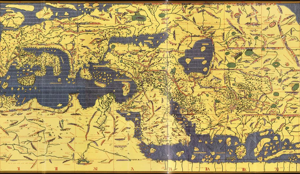Where to see some of the worlds oldest and most interesting maps tabula rogeriana publicscrutiny Images