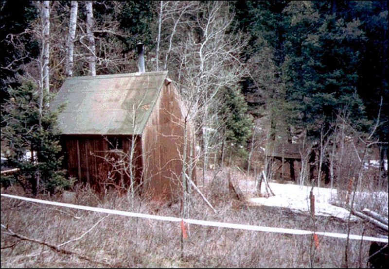 The Cabin In Montana Where Kaczynski Lived At Time Of His Arrest FBI