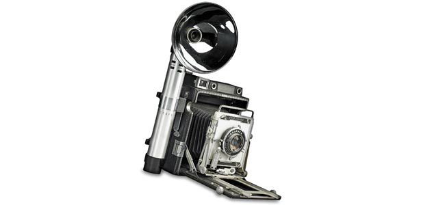 Graflex Speed Graphic camera