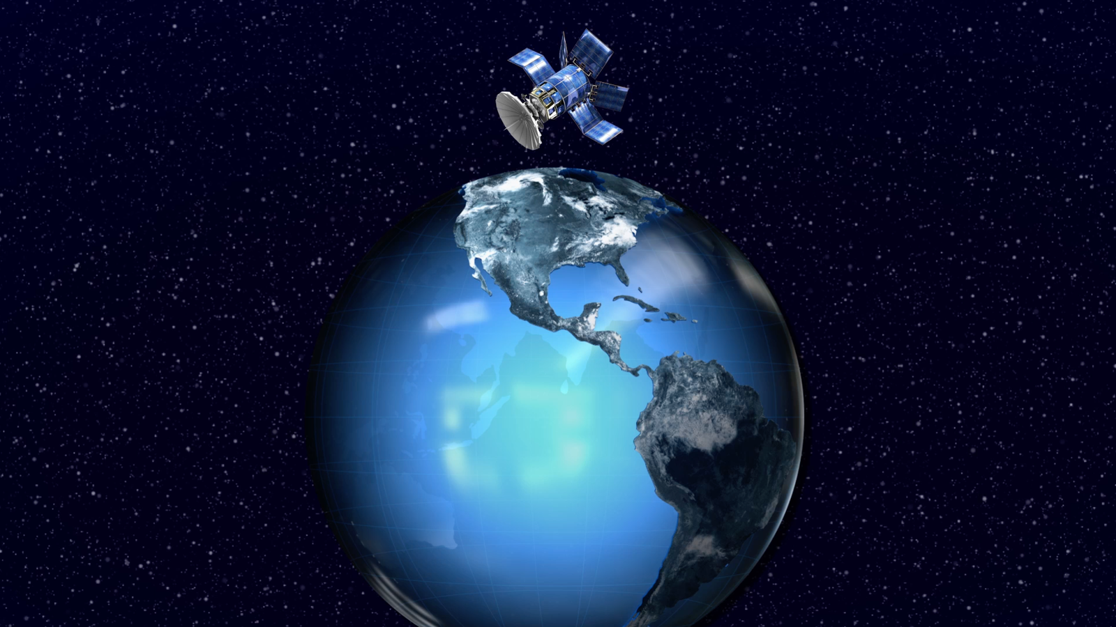 Ask Smithsonian: How Does a Satellite Stay Up?   At the Smithsonian