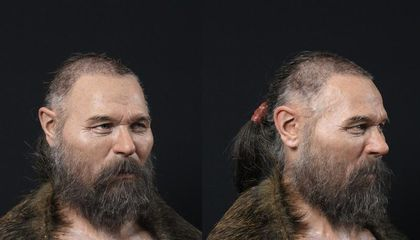See the Face of a Man Whose Skull Was Mounted on a Stake 8,000 Years Ago