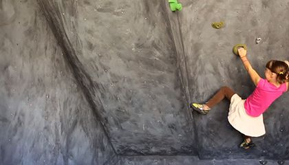 Editor's Pick: The Homemade Rock Climbing Wall