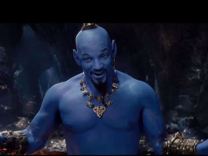 Why Is the Genie in 'Aladdin' Blue?