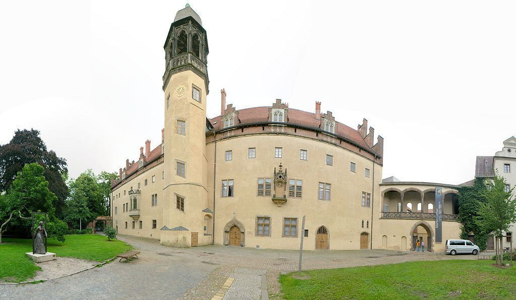 Lutherhaus in Wittenberg.
