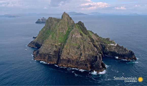 Preview thumbnail for video'A Stunning & Dramatic Irish Island Once Inhabited by Monks