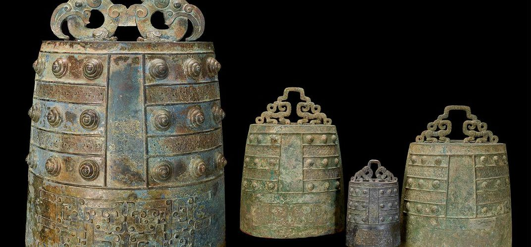 Caption: Rare Bronze Age Bells on View at the Sackler