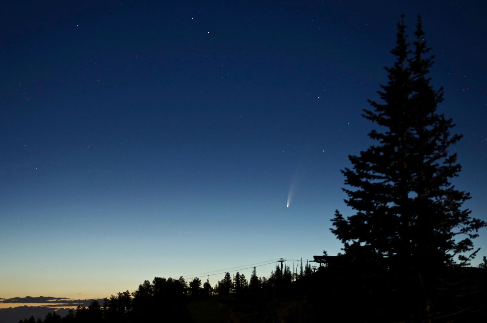;Ow To See The Christmas Comet 2020 How to Watch Comet Neowise's Spectacular Show   Smart News
