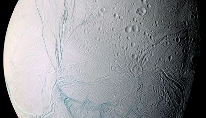 Saturn's Icy Moon Enceladus May Have a Giant Liquid Water Lake