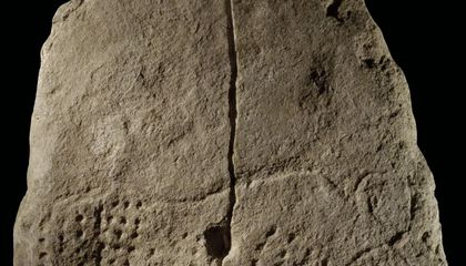 Dig This: Researchers Found a 38,000-Year-Old Engraving in France