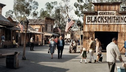 The Wild West of Knott's Berry Farm Is More Fantasy Than Reality