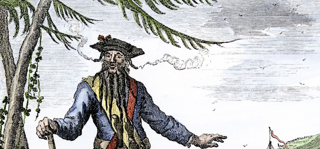 Caption: What's the Real Story of Blackbeard?