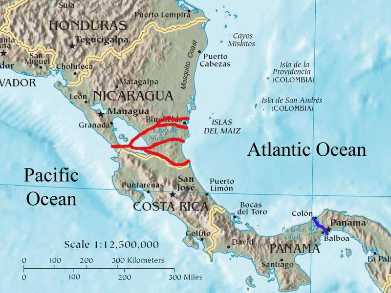Nicaragua Is Going Ahead With A Massive Canal That Will Bisect The