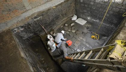 Aztec Palace and House Built by Hernán Cortés Unearthed in Mexico City