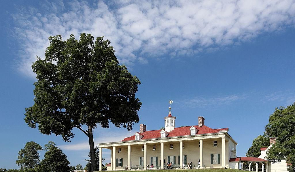 Mount Vernon, George Washington's Virginia estate.