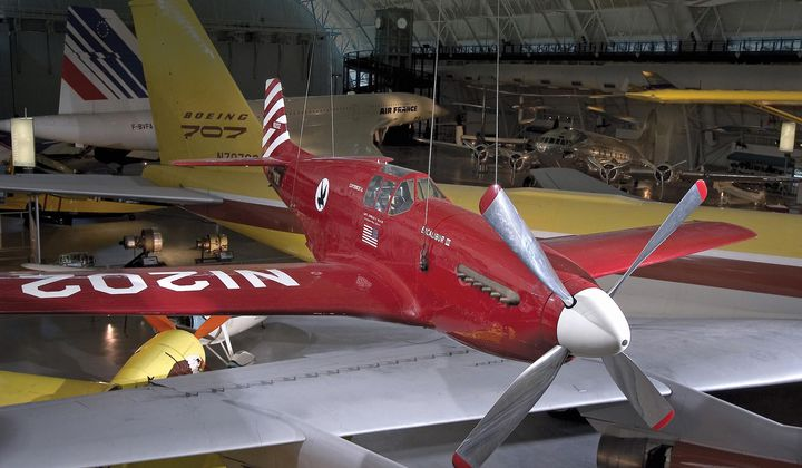 This WW2 Mustang Became More Famous as a Racer