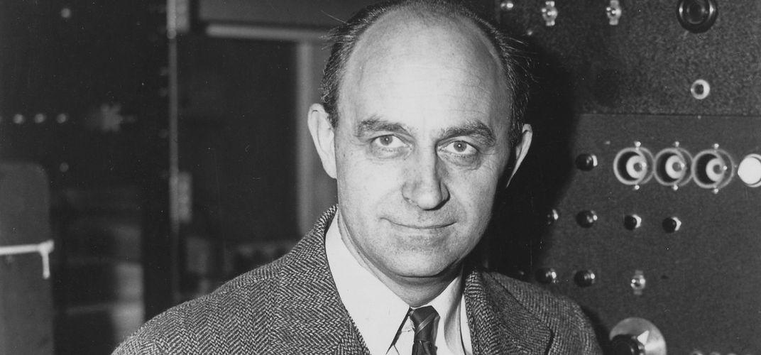 "Caption: Was Enrico Fermi the ""Father of the Nuclear Age""?"