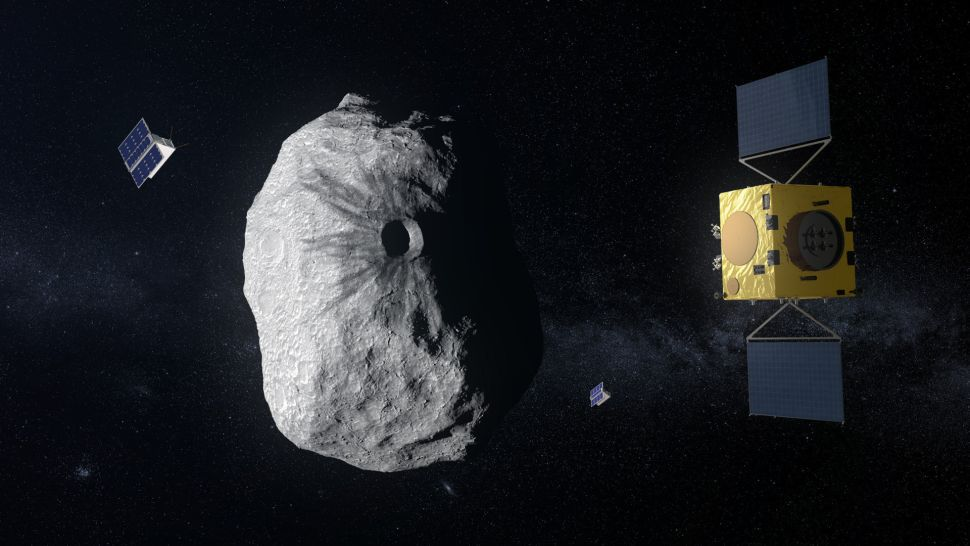 A Spacecraft Will Follow NASA's Asteroid-Smashing Mission to Measure the Effects of the Impact