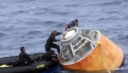 India Tests Prototype Astronaut Capsule