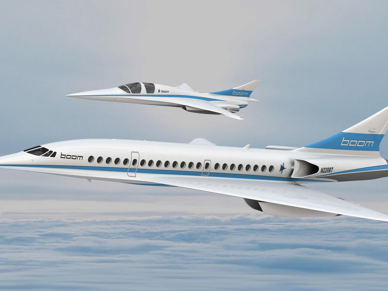 Boom Technology's supersonic demonstrator