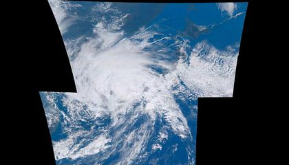 Watch This Dramatic Time-Lapse of Typhoon Goni Bearing Down on Japan
