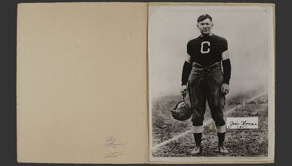 Happy Birthday, Jim Thorpe! We're Celebrating by Making His Daughter's Archives More Accessible Online